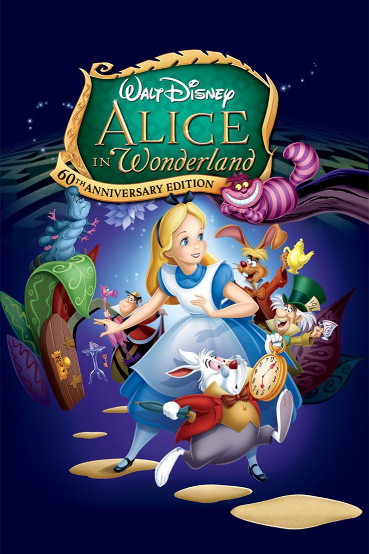click image to watch Alice in Wonderland (1951)