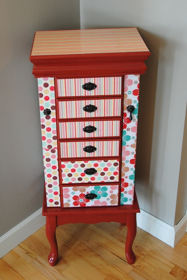 Refurb Jewelry Box! I am going to try this!