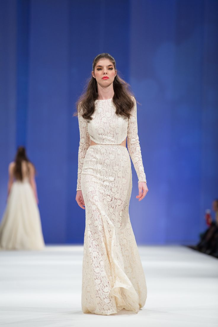 Dalarna Couture Pearl collection cotton lace wedding gown