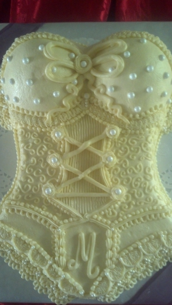 Lingerie Shower / Bachelorette Cake - and which piece do YOU want?  (ALSO for the Bachelor Party)