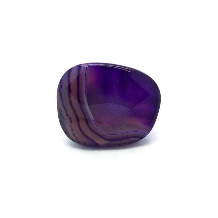 Lola Rose Inez Purple Montana Agate Stretch Ring (A)