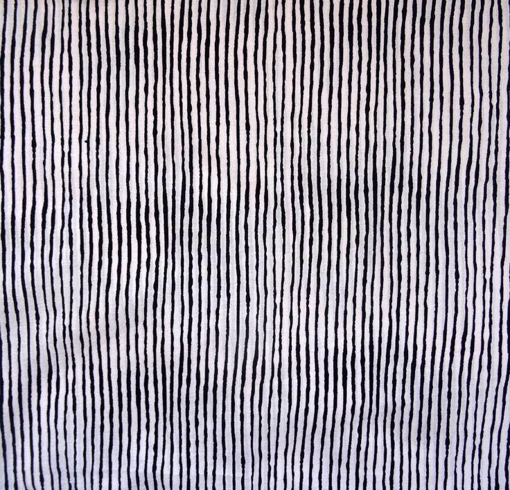 tissu au metre, coton, collection noir et blanc fines rayures : Tissus Habillement, Déco par akkacreation
