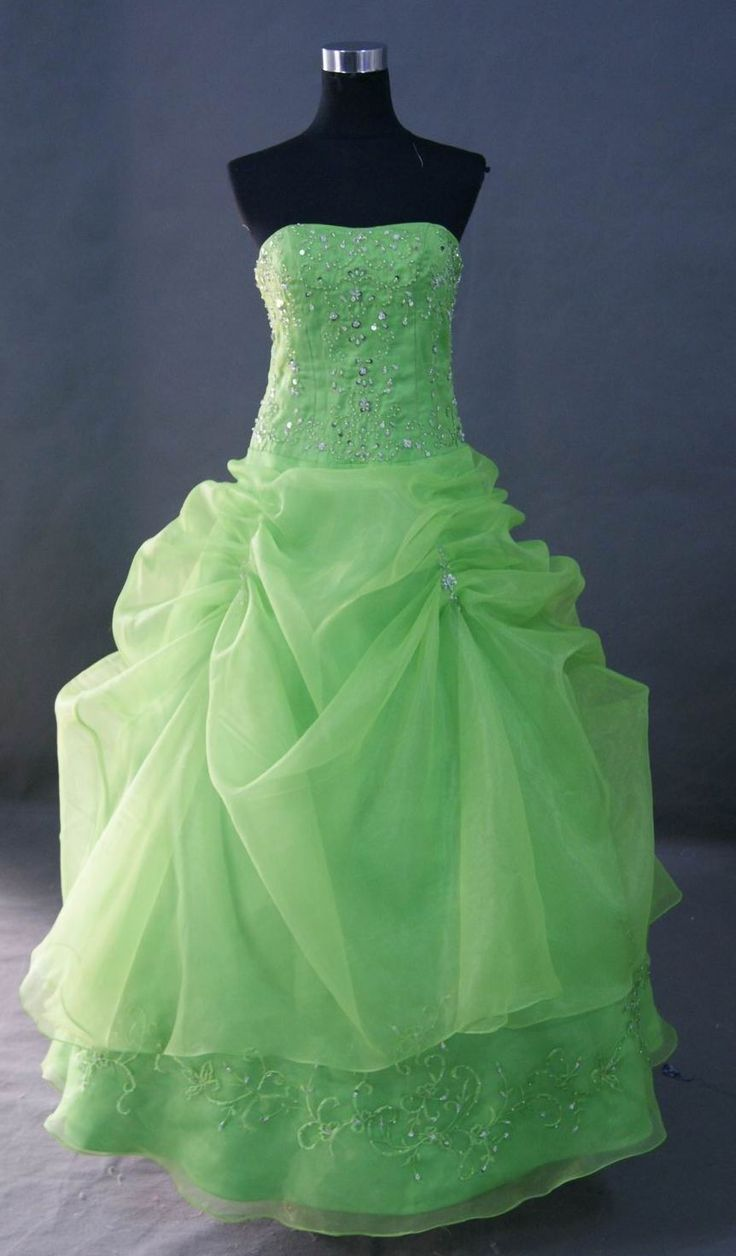Best 25 lime green prom dresses ideas on pinterest neon image detail for lime green strapless prom dress lime green prom dresses prom dress ombrellifo Images