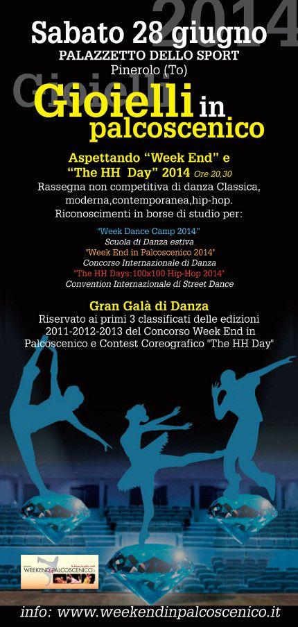 GIOIELLI IN PALCOSCENICO: Rassegna non competitiva di Danza + Gala dei Vincitori « weekendinpalcoscenico la danza palco e web | IL PORTALE DELLA DANZA ITALIANA | weekendinpalcoscenico.it