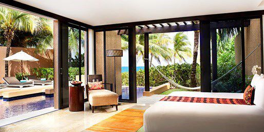 Banyan Tree Mayakoba Resort - Riviera Maya.  Want to live here.