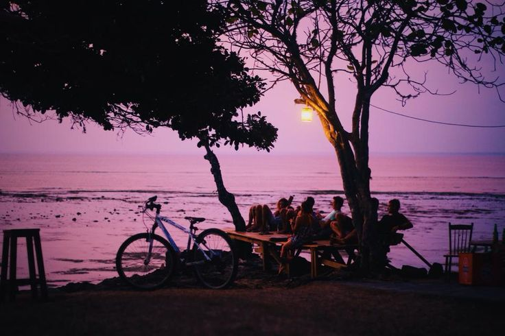 Photo by Christian Spencer capturing the sweet end of the day | at G-Land Joyos Surf Camp Indonesia | more: g-land.com