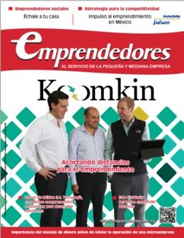 portada revista emprendedores