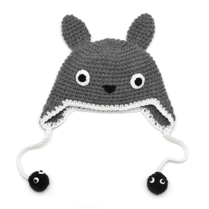 Knitting Pattern For Totoro Hat : 8 best images about Totoro Hat on Pinterest Free pattern, Circles and Ravelry