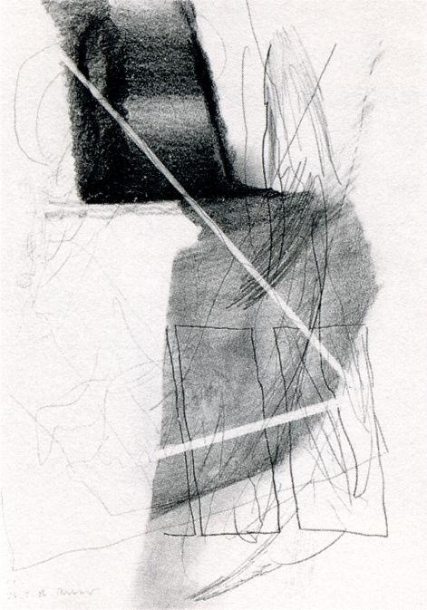 Gerhard Richter 1986 29.7 cm x 21 cm Zeichnungen CR: 86/35 Graphit auf Papier