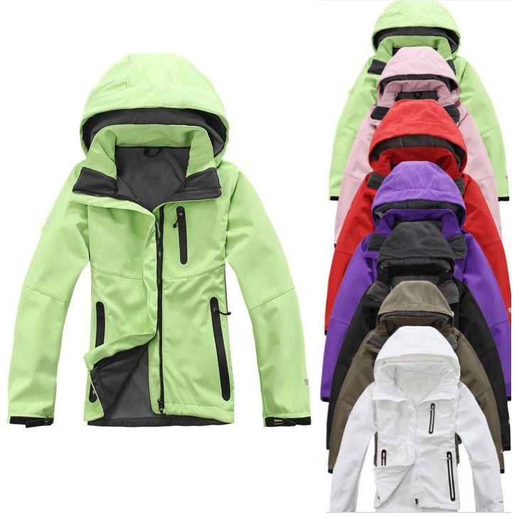 Cheap De la mujer chaquetas exterior 2015 nuevo Soft Shell traje de esquí chaqueta de deporte de desgaste para mujeres sml XL XXL, Compro Calidad Chaquetas directamente de los surtidores de China:        Es idea perfecta a la reventa para tiendas de moda,  Negocio en línea,  Tiendas eBay,  Dropship,  Etc