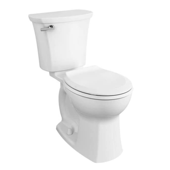 American Standard Edgemere White Watersense Round Chair Height 2 Piece Toilet 12 In Rough In Size Ada Compliant Lowes Com In 2020 Round Chair American Standard Edgemere