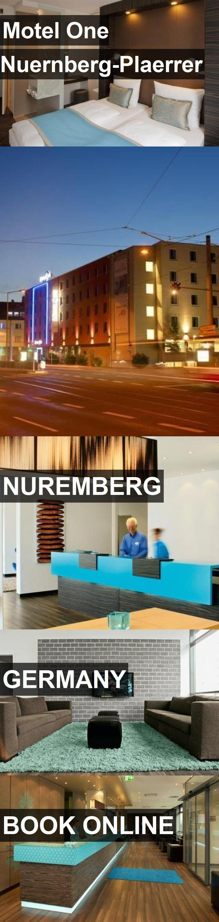 Hotel Motel One Nuernberg-Plaerrer in Nuremberg, Germany. For more information, photos, reviews and best prices please follow the link. #Germany #Nuremberg #travel #vacation #hotel