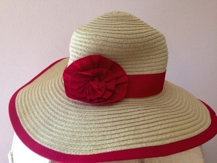 Item: Adorable Red beach hat