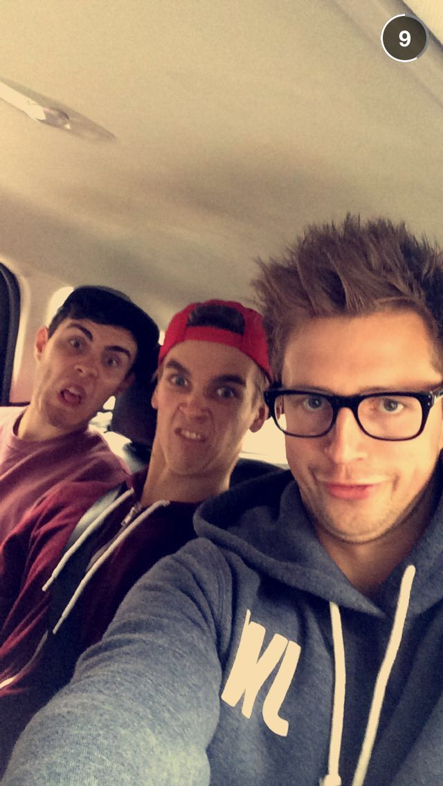 Marcus Butler, Joe Sugg and Alfie Deyes - This is the reason I love youtubers :)