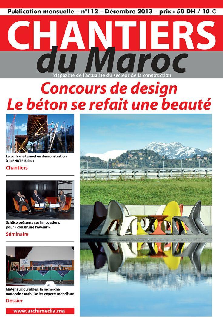 Chantiers du Maroc : Magazine de l'actualité du secteur de la construction au Maroc
