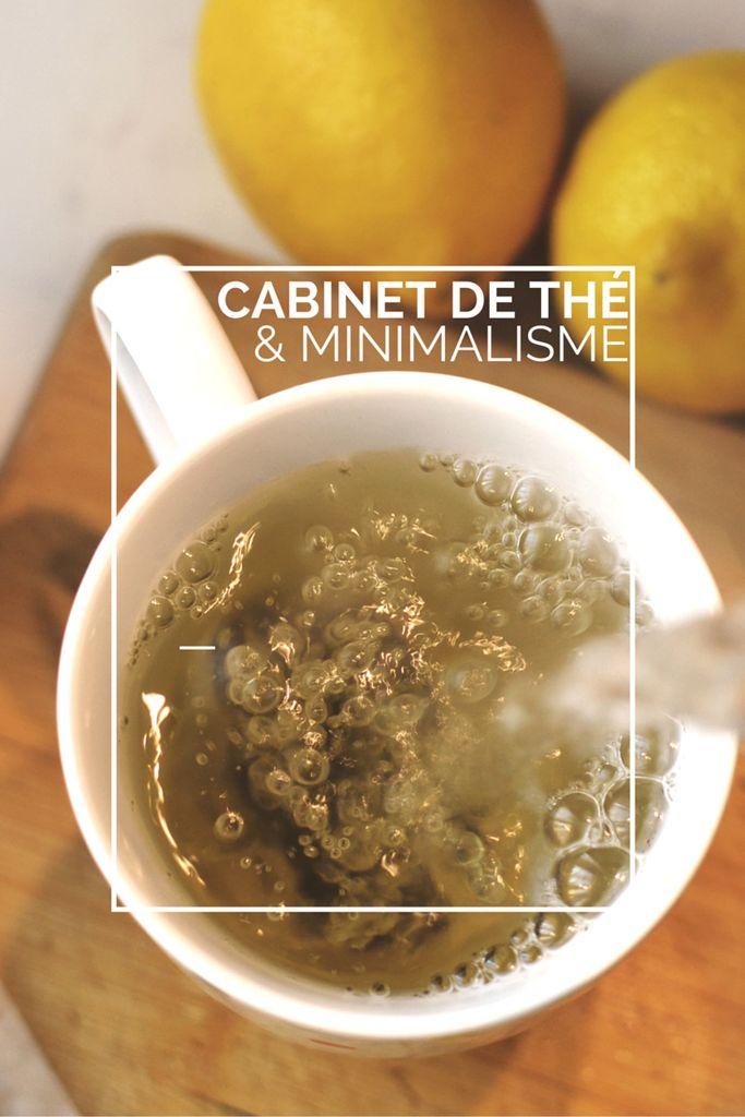 Un cabinet de thé minimaliste pour une cuisine (et une vie) désencombrée
