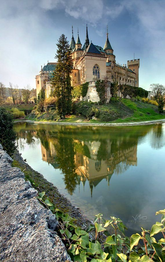 """Castle of Spirits"".. Bojnice Castle, Slovakia   by gummaid"