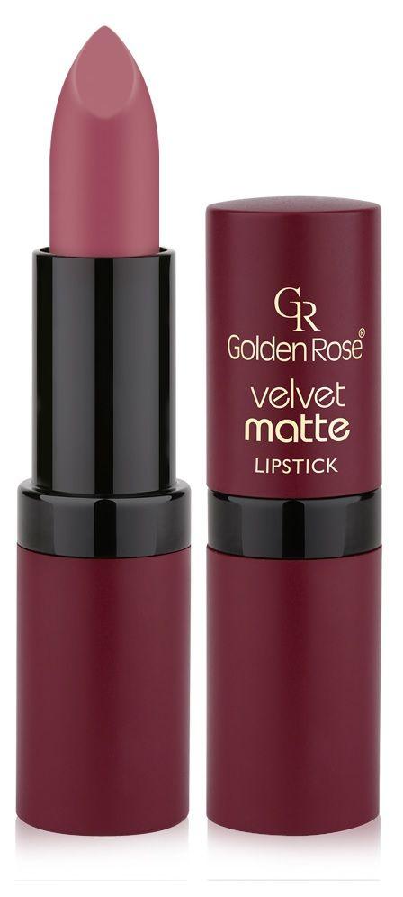 Golden Rose Velvet Matte Ruj 14 Gül Kurusu Make Up 2019 Velvet