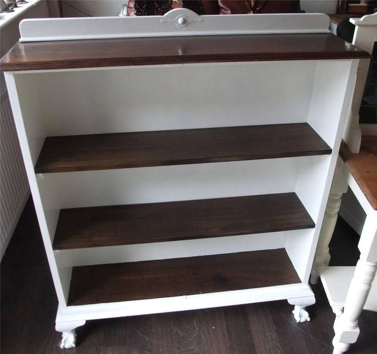 Shabby Chic Painted Bookcase Viewings Welcomed At: Big Yorkshire Furniture  3/5 Wharf Street