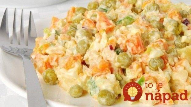 Zabudnite na ťažké šaláty s majonézou: Tento ľahký šalát skvele zasýti a chutí neodolateľne!