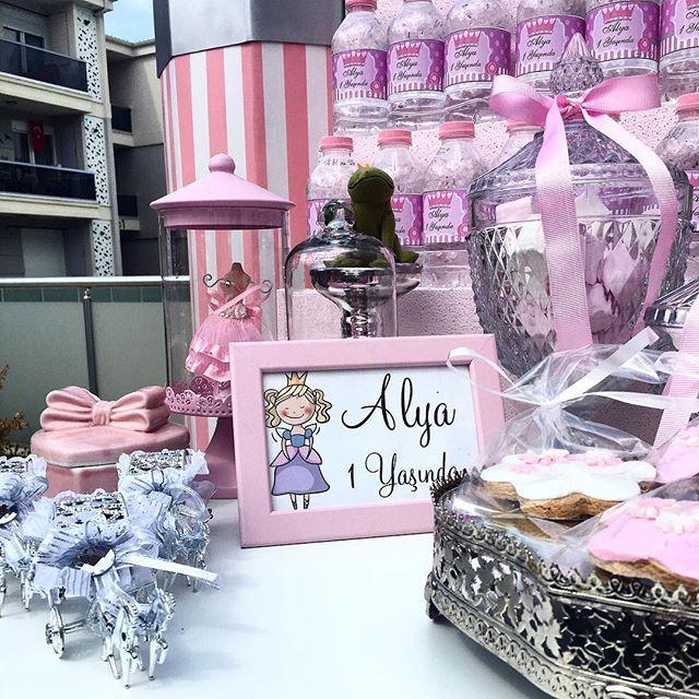 Prenses doğum günü partisi #prenses #prensesdogumgunu #yasgunu #prensesdoğumgünü…