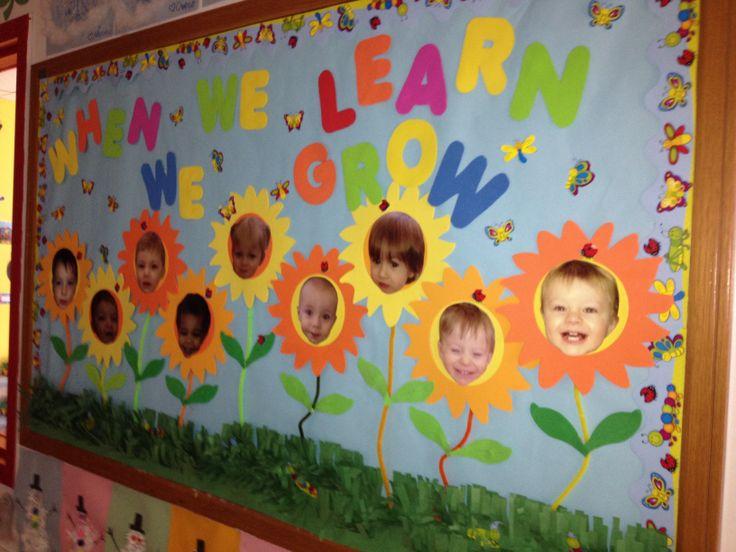 Spring Bulletin Boards Toddler Room Pinterest Spring
