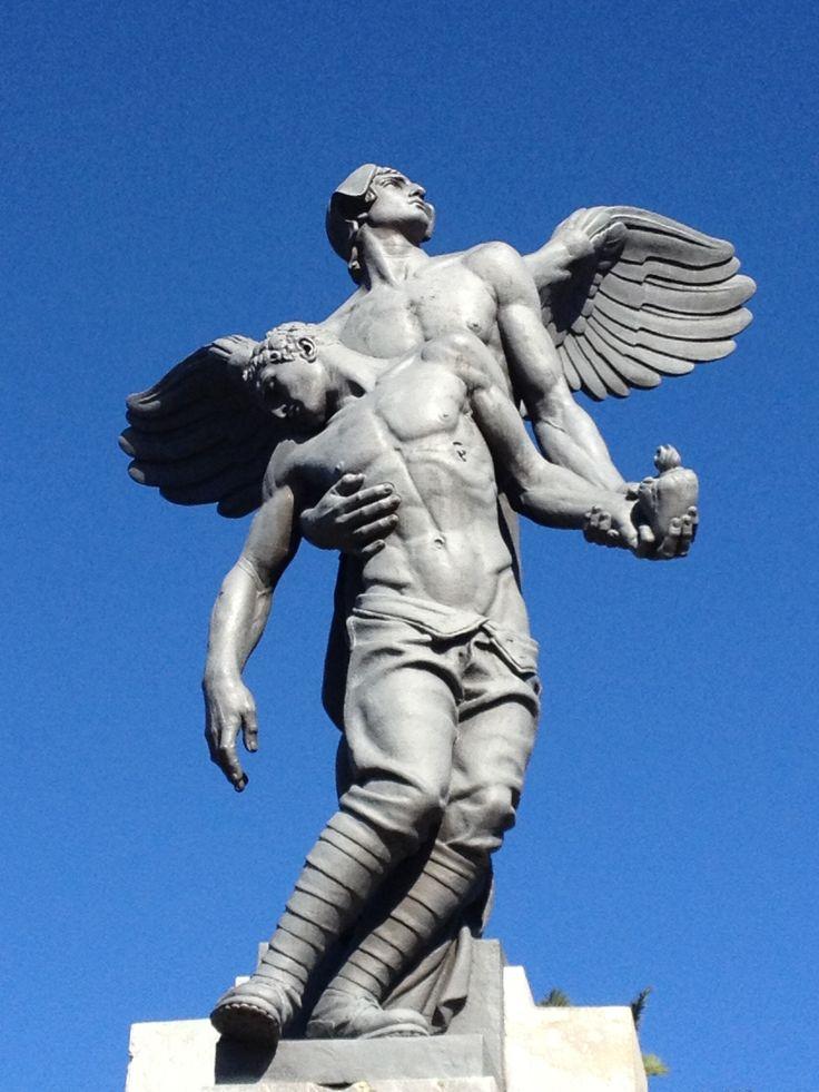 War memorial in #Corleone Sicily
