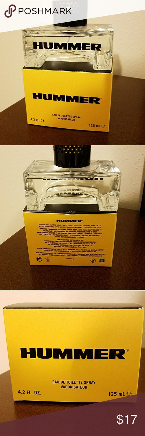HUMMER EDT YELLOW FOR MEN NEW open BOX 125ML Hummer edt yellow for men new open  box 125ml 100% Authentic. hummer Other