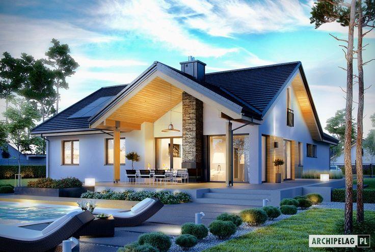 Projekty domów ARCHIPELAG - Simon G2
