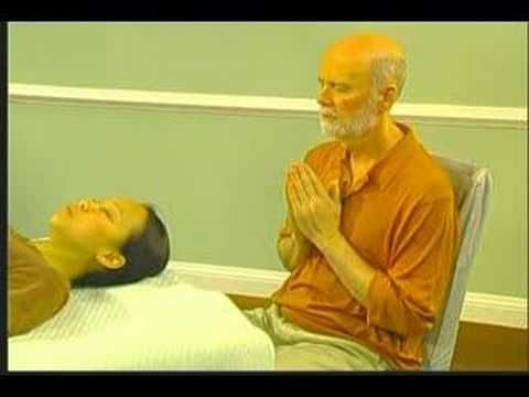 William Lee Rand demonstrates hand positions for treating others. This is a video excerpt from The Reiki Touch Kit, available at http://www.reikiwebstore.com
