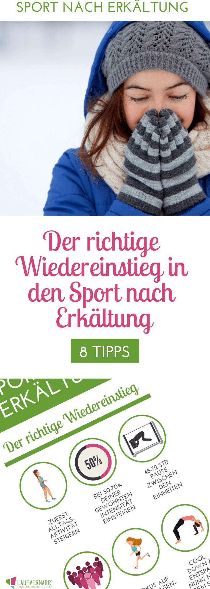 Sport nach Erkältung – über den richtigen Wiedereinstieg – Laufvernarrt – Fitness, Ernährung, Mentales Training