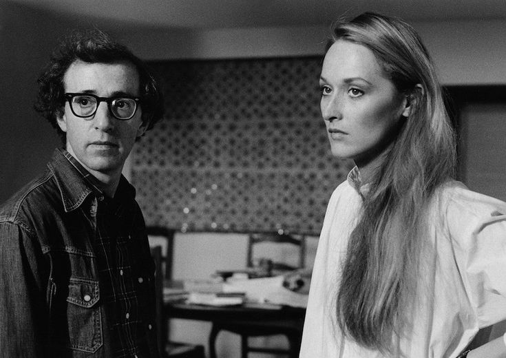 "Woody Allen and Meryl Streep in a scene from ""Manhattan"" (1979)."