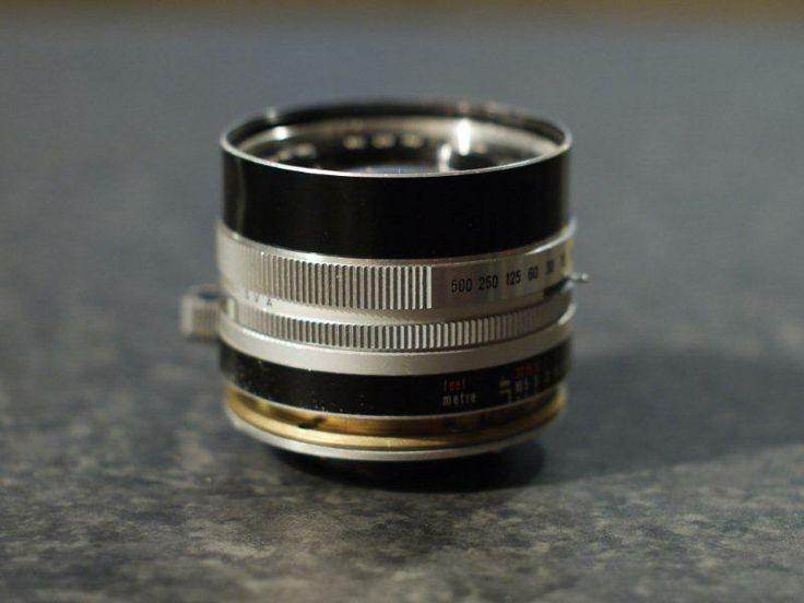 Lens Butchery!! Konica Auto S 1.6 converted to Micro 4/3