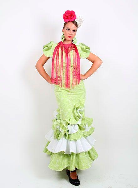 Trajes de gitana 2015 desde la talla 34 a la 56 desde 99 € http://www.elrocio.es/41-trajes-de-flamenca-baratos #trajesdeflamenca #trajesdeflamenca2015