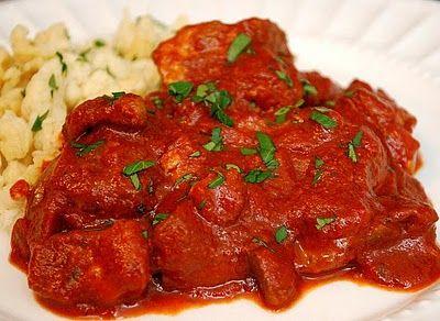 Hungarian Goulash - my mom had the best recipe - it was my fav. Wish I had it.