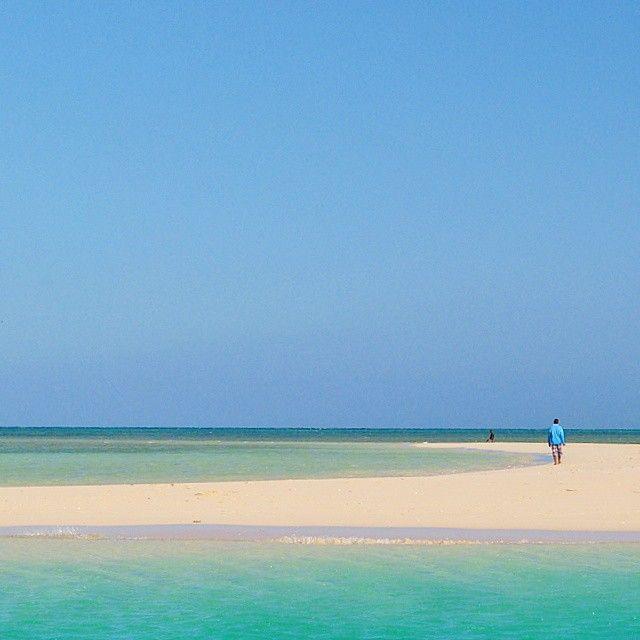 On a sand bar, Zanzibar, Tanzania. Photo courtesy of _sun_catcher_ on Instagram.