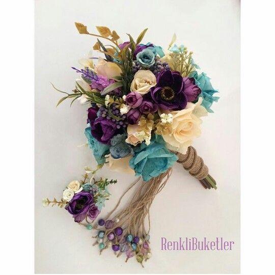 Gelin buketleri gelin çiçekleri ♡