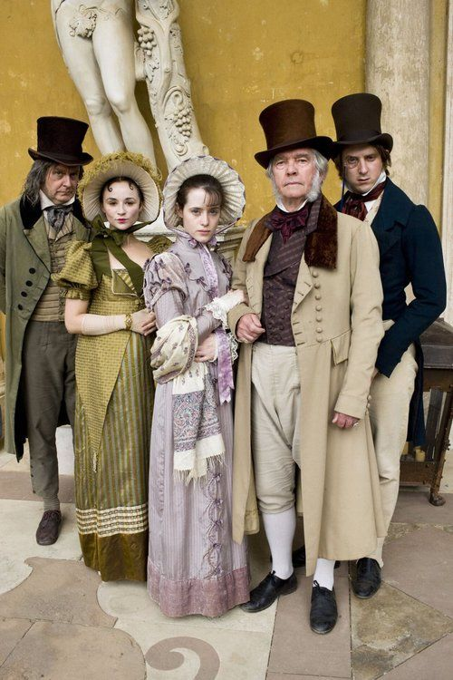 James Fleet, Emma Pierson, Claire Foy, Tom Courtenay and Arthur Darvill in Little Dorrit