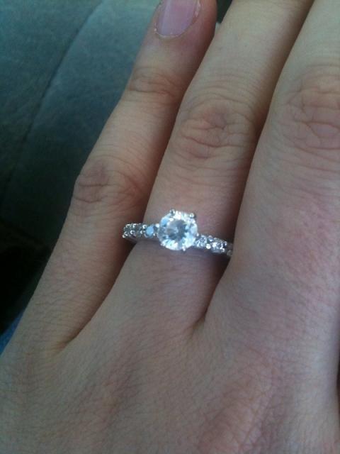 Best Imitation Diamond Engagement Rings