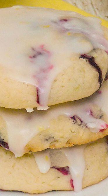 Soft Blueberry Cookies Recipe