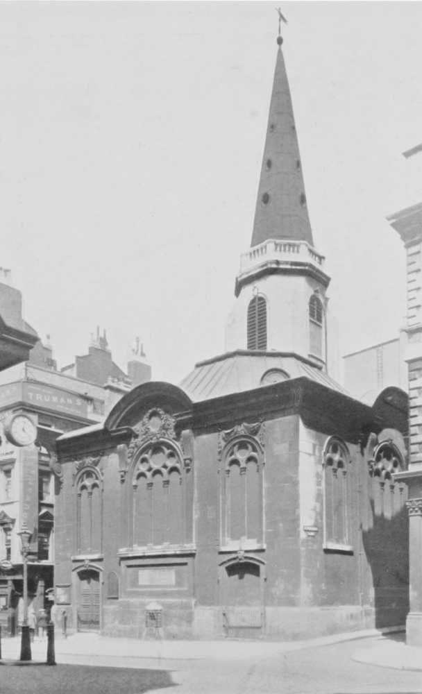 Plate 62: Billingsgate, Church of St. Margaret Pattens. Walbrook, Church of St. Swithin London Stone | British History Online