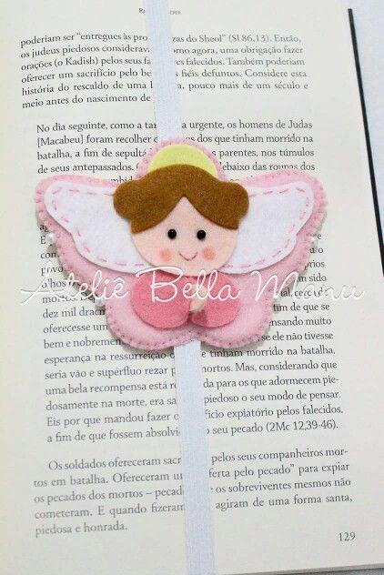 Anjo marca pagina