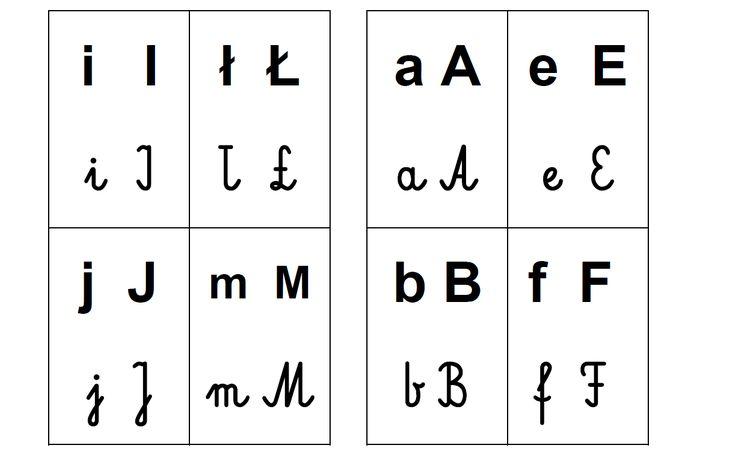 alfabet do druku, pliki do pobrania, karty z alfabetem, naucza pisania, litery pisane i drukowane, czytanie, edukacja domowa.