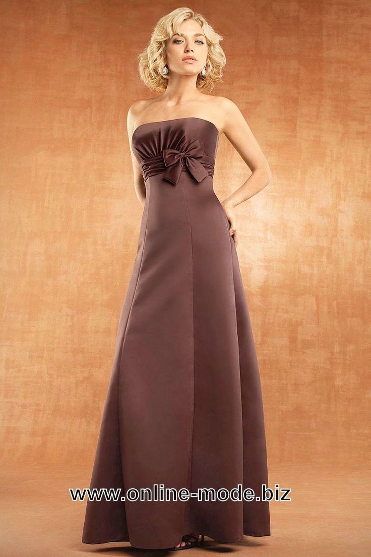 Event Mode Abendkleid in Bronze Braun von www.online-mode.biz