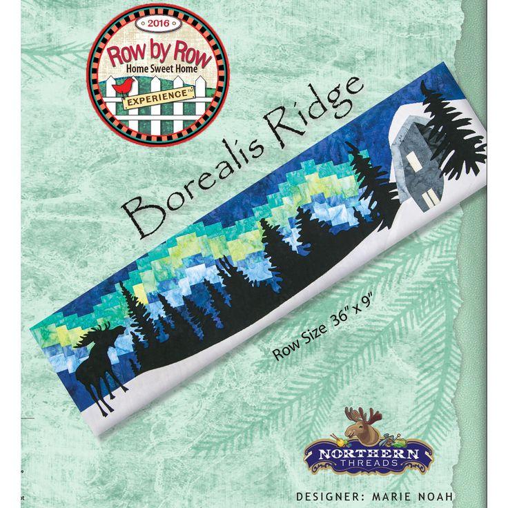 Row by Row 2016 Boralis Ridge Pattern