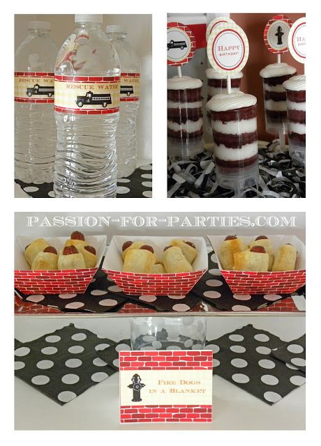 Birthday Party Blog: Vintage Fire Truck Party