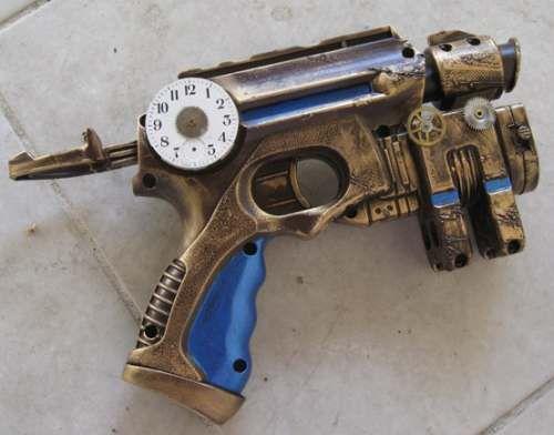 Nerf Maverick Steampunk Guns Are Mean