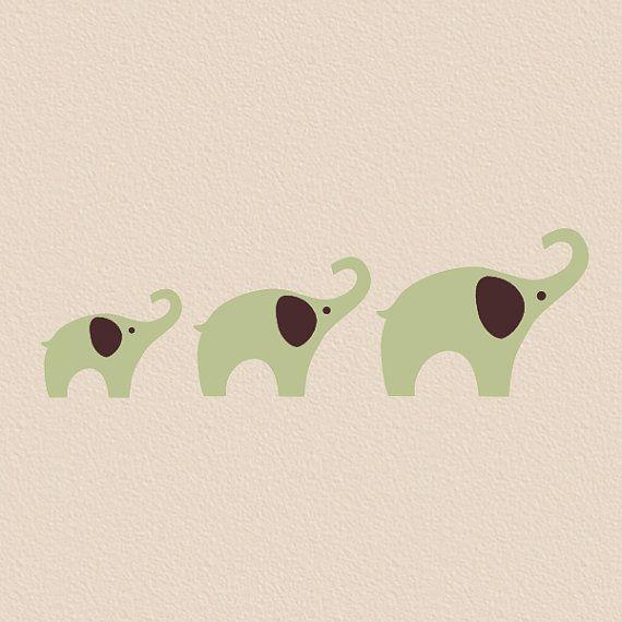 Elephants!: Child Room, Elephant Illustration