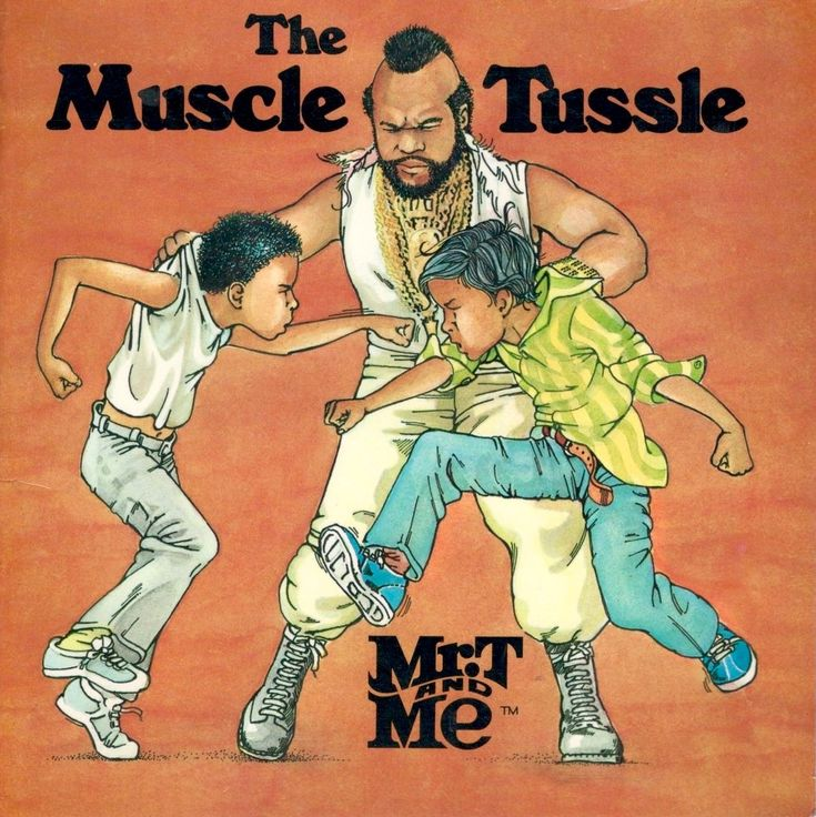 Mr T And Me The Muscle Tussle 1985 Books Most