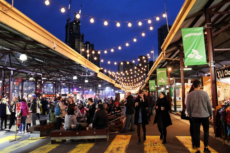 Melbourne Winter Night Markets. We love the Melbourne night markets!